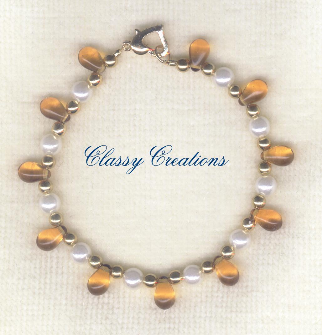 Classy Creations - Jewelry By Dawn - Bracelets - Glass