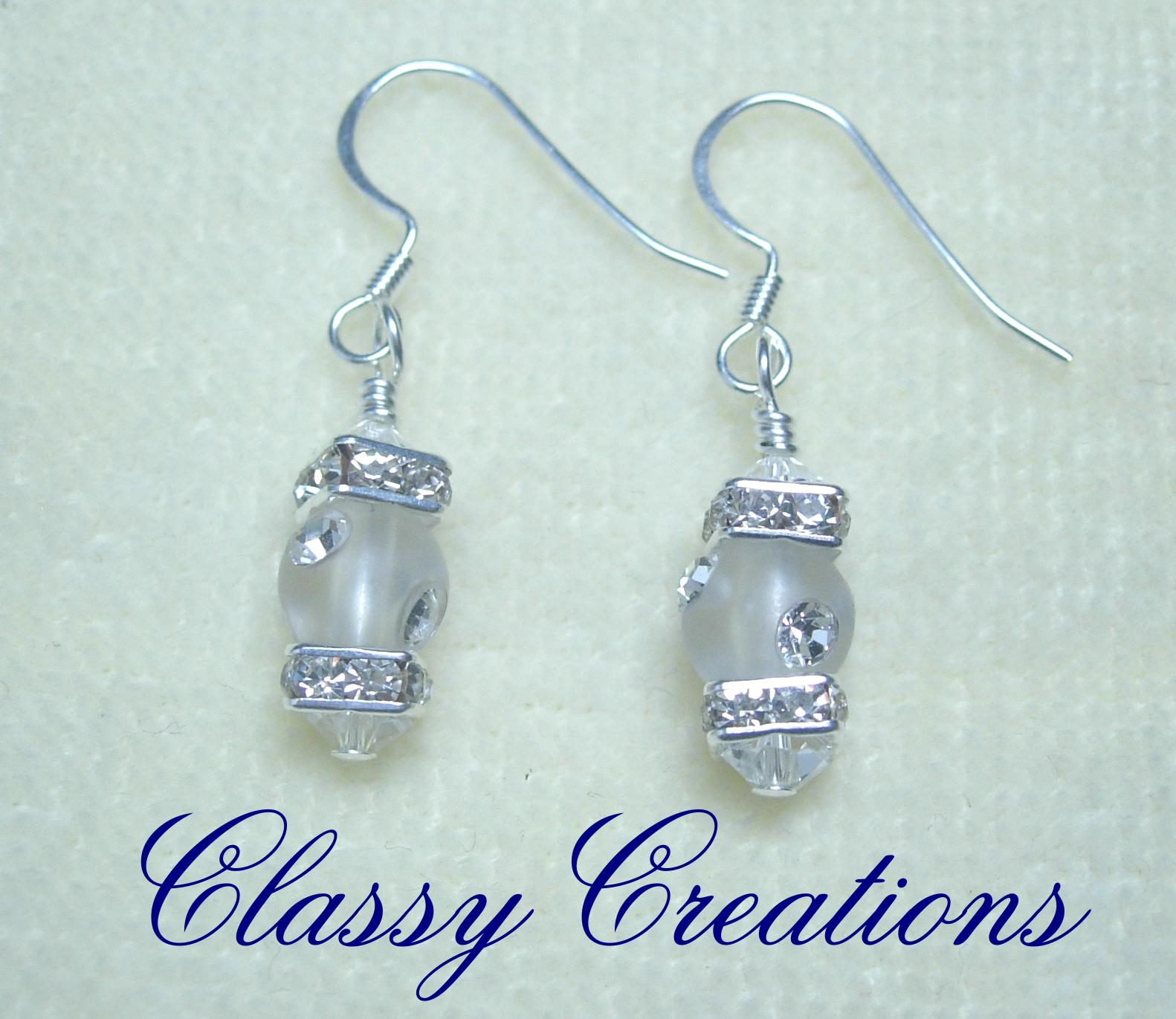 Classy Creations - Jewelry By Dawn - Earrings - Crystal